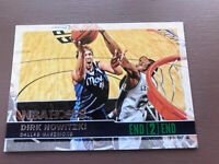2014-15 Panini - Hoops Basketball: Dirk Nowitzki - End 2 End Card