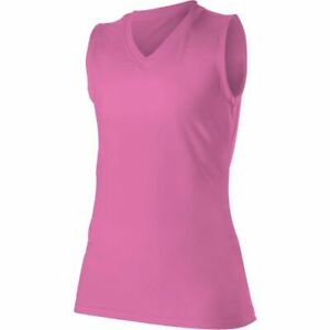Alleson Youth Girl's Multi Sport Shirt PINK MD