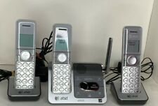 AT&T 3 Handset Cordless Phone & Digital Answering Machine System DECT6.0 CL82301
