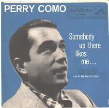 PERRY COMO--PICTURE SLEEVE ONLY--(SOMEBODY UP THERE LIKES ME)--PS--PIC--SLV