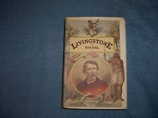 LIVINGSTONE by Tim Jeal /1st Ed./HCDJ/Biography/Historical Figure