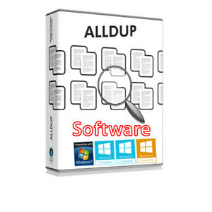 AllDup Software CD-Rom Duplicate File Remover (Best of the Best-Easy as 1,2,3)