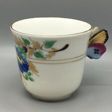Victorian Butterfly Handled China teacup ( Restored handle )
