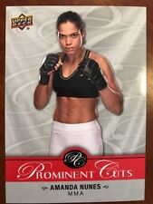 2017 UD National Card Convention Prominent Cuts Auto PC-5 Amanda Nunes NSCC prom