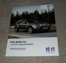 BMW X5 Brochure 2011 - xDrive 30d 40d 50i SE & M Sport