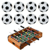 10pcs 32mm Plastic Soccer Table Foosball Ball Football Fussball  CPfw