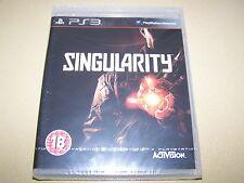 Singularity PS3 **New & Sealed**