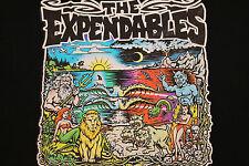 M * vtg 90s THE EXPANDABLES reggae ska punk surf t shirt * 31.56