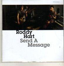 (BT847) Roddy Hart, Send A Message - DJ CD
