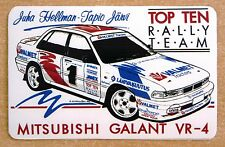 MITSUBISHI GALANT VR4 Rally Motorsport Adesivo Decalcomania
