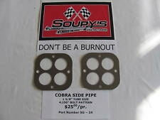 Cobra Side Pipe Exhaust Gaskets