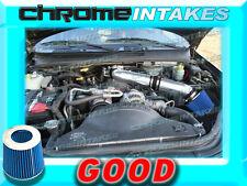 BLACK BLUE NEW 99 00 01-04 JEEP GRAND CHEROKEE/LAREDO 4.7L/HO V8 AIR INTAKE KIT