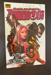 THUNDERBOLTS Volume 1 Hardcover (Marvel 2005) -- Faith In Monsters -- OOP HC