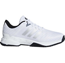 Men\u0027s Adidas Barricade Court 3 Wide White Sport Tennis Athletic Shoe CM7817  ...
