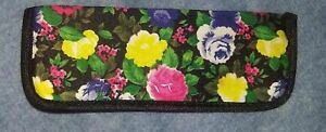 NEW Eyeglasses Case Soft Shell Sunglasses Eyewear Small Floral Colorful Neoprene