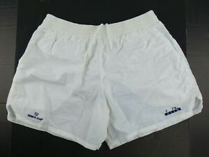 Vintage 90s diadora Davis Cup 100% Nylon Tennis Shorts Size Men's L