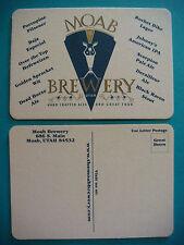 Beer Coaster: MOAB Brewing Porcupine Pilsener, Dead Horse Ale, Black Raven Stout