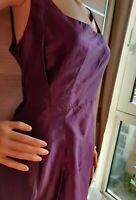NEW COAST A LINE DRESS SIZE UK 14 US 10 PURPLE
