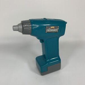 Vintage 1999 Hot Wheels Mechanix Electric Screw Gun Drill Toy