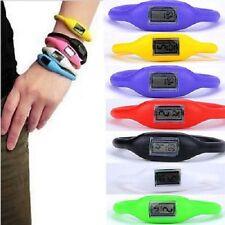 Damen Uhr Herren Armbanduhr Kinder Sportuhr Silikon Armbanduhr Digital Armband
