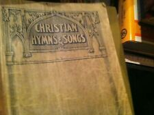 old worn hymnal  christian hynns and songs     box65