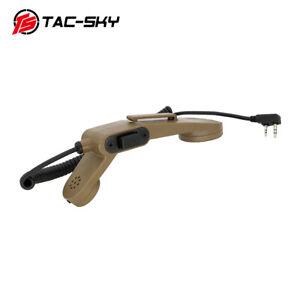 TAC-SKY2-pin H250 PTT Handheld Microphone 2-pin PTT is Tactical Headset DE