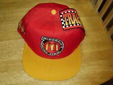 Jimmy Spencer McDonalds Snapback hat NASCAR Vintage New with Tags 90's McDonalds