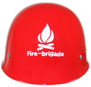 Historical Fire Brigade Helmet Solid For Costume Fireman Costume Carnival