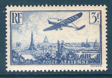 TIMBRE PA 12 NEUF ** GOMME ORIGINALE - AVION SURVOLANT PARIS