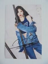 Suzy Bae Miss A 4x6 Photo Korean Actress KPOP autograph signed USA Seller 20
