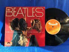 LES BEATLES LES PERRUQUES POLYDOR 45900 25CM 10' ORIG FRANCE LP EXC+