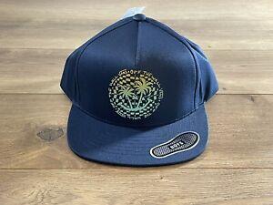 Vans By Checker Palms Boys Snapback Hat Dress Blues Adjustable ( VN0A5E28LKZ )