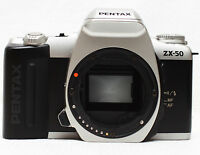 Pentax ZX-50 35mm Film SLR Camera Body Only Parts Repair Display