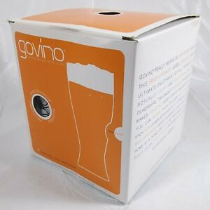 Govino Beer Reusable Plastic Shatterproof Glasses Pk Of 4