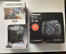 Panasonic LUMIX G7K / Rode Video Camera Microphone