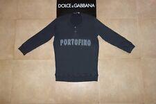 Dolce&Gabbana Black Label PORTOFINO 3/4 Sleeve Sweatshirt Serafino 50 IT(M),RARE