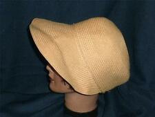 August Camel 100% Paper Women's Visor Hat Size 6 5/8 Adjustable
