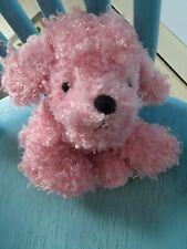 Ganz Webkinz Pink Poodle Puppy Dog NO CODE Plush Stuffed Animal