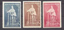 PHILIPPINES ,1952 , PANAPEX , MARIA CLARA , SET OF 3 ,  PERF,  MNH