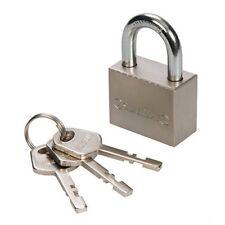 CADENAS EN ACIER 40 mm H 20 X V 23 X D 7 mm 3 clés en acier