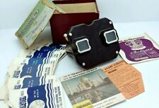 Vintage SAWYER'S VIEW-MASTER Made in Belgium w/ view master 7 REELS