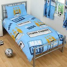 Manchester City FC juego funda Edredón individual