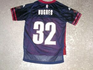 Cleveland Cavaliers LARRY HUGHES football style JERSEY youth Small Adidas