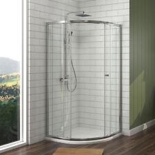 Duschkabine 80x80 Eckeinstieg Duschabtrennung Schiebetür Dusche mit Duschwanne