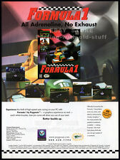 FORMULA 1 / 3Dfx - VOODOO Graphics__Original 1997 print AD game promo__Psygnosis