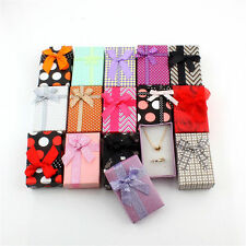 12pcs mix Jewelry Gift Box Necklace Display Pendant  Necklace Storage Case