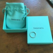 Tiffany & Co Platinum 2mm Wedding Band Ring, size 7 or N. RRP $1500