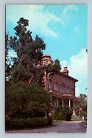 Macon GA, Hay House, Chrome Georgia Postcard