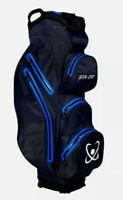 STADRY 100% Waterproof 14 way 7 pockets Cart Bag Ultralightweight ELECTRIC BLUE
