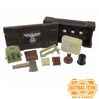 """Brickforge """"EQUIPMENT CRATE"""" Accessory Pack for Lego Minifigures WW2 NEW"""